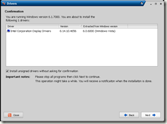 intel 845 graphics controller sous xp