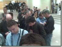 Waitlist queue for AppSpeed session - did get a seat though