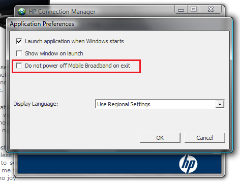 Hp connection manager 3g download