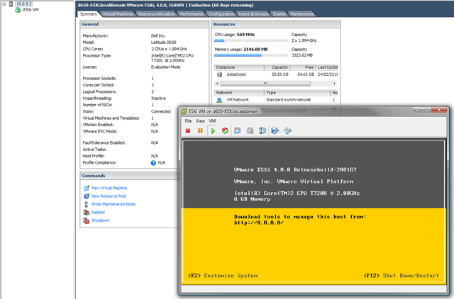 Installing ESXi on a Laptop | Virtualization, Cloud
