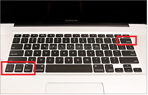 Shortcut key for ctrl alt del on a mac for a fusion vm