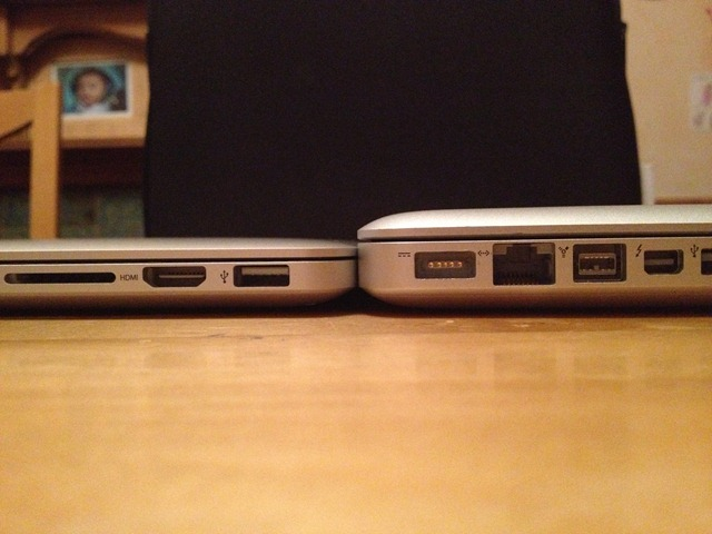 premium selection c301e 1d519 13 Inch 2011 MacBook Pro vs 2012 13 Inch MacBook Pro Retina ...
