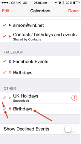 How to Remove LinkedIn contact birthdays from your iPhone Calendar