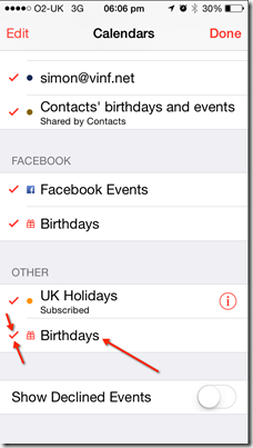 How to Remove LinkedIn contact birthdays from your iPhone